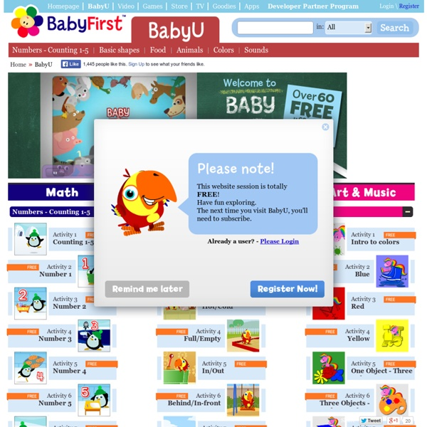 Free Educational Games For Babies