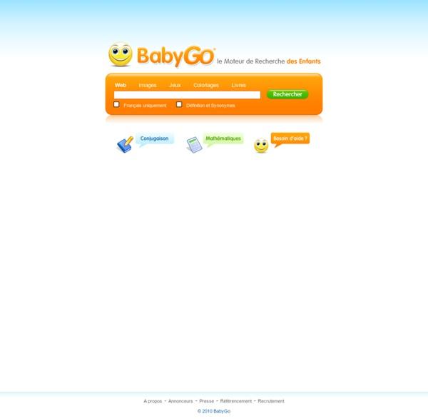 BabyGo - Le moteur de recherche des enfants