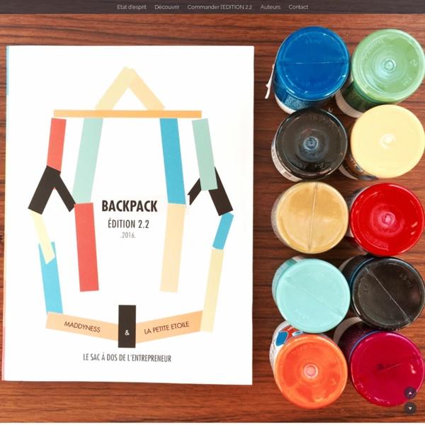 ⌘ BACKPACK ⌘ Sac à dos de l'entrepreneur - Edition 2