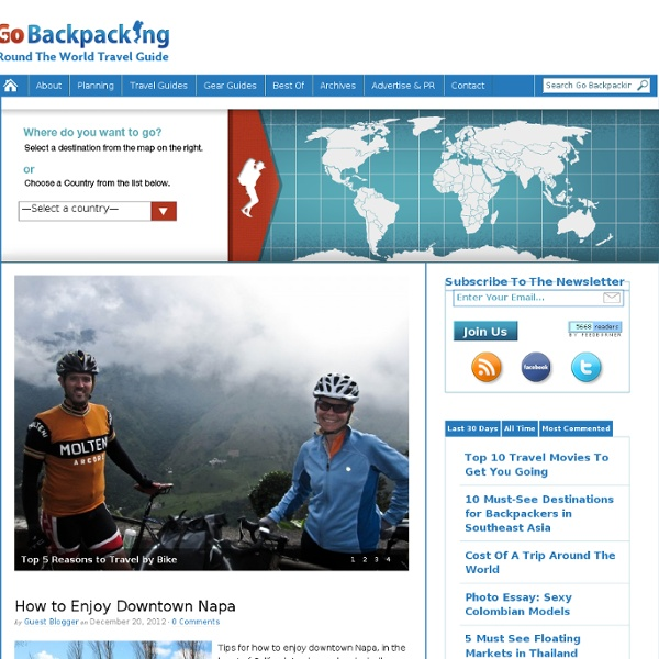 Go Backpacking - Around the World Travel Blog