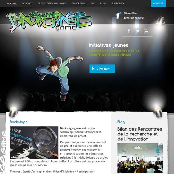 Backstage Game - Backstage Game