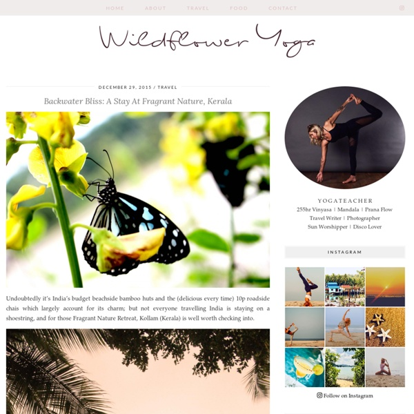 Fragrant Nature is an exclusive luxury 4 star resorts lakeside hotels in Kerala offering yoga, massage, Ayurveda Spa is in an idyllic location on the Kerala Backwaters near Varkala and Kollam