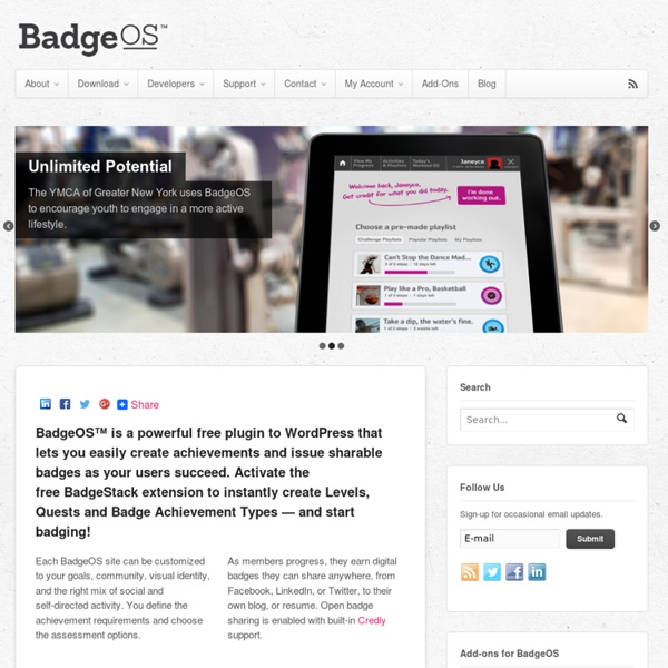 BadgeStack: A Badge-Empowered Learning System - Produced by LearningTimes
