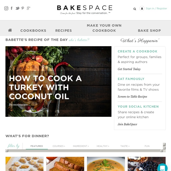 Swap Recipes & Self Publish Your Own Cookbooks