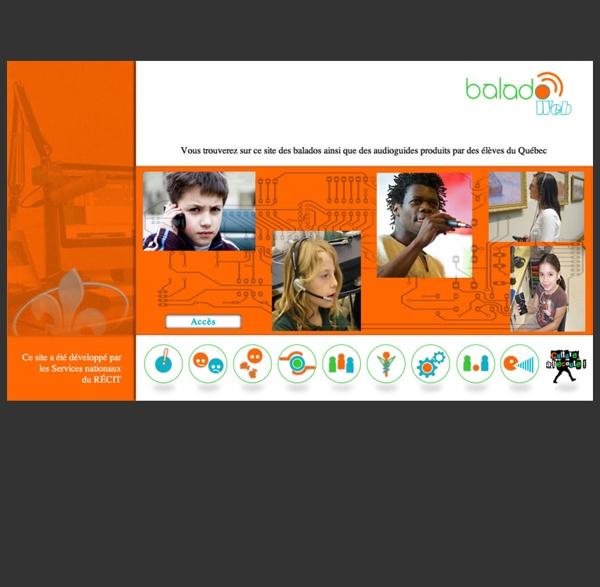 BaladoWeb - La voix pour apprendre