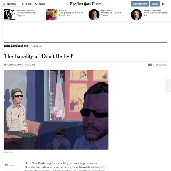 The Banality of 'Don't Be Evil'