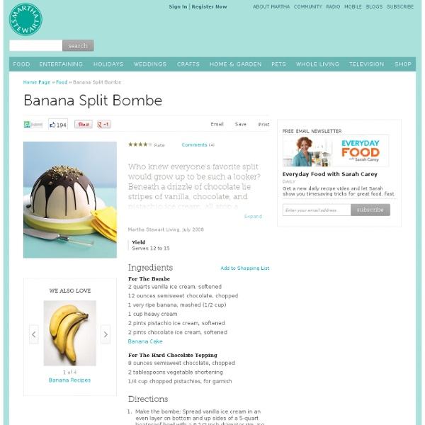 ... banana split brownie ice box banana berry split banana split bombe 10