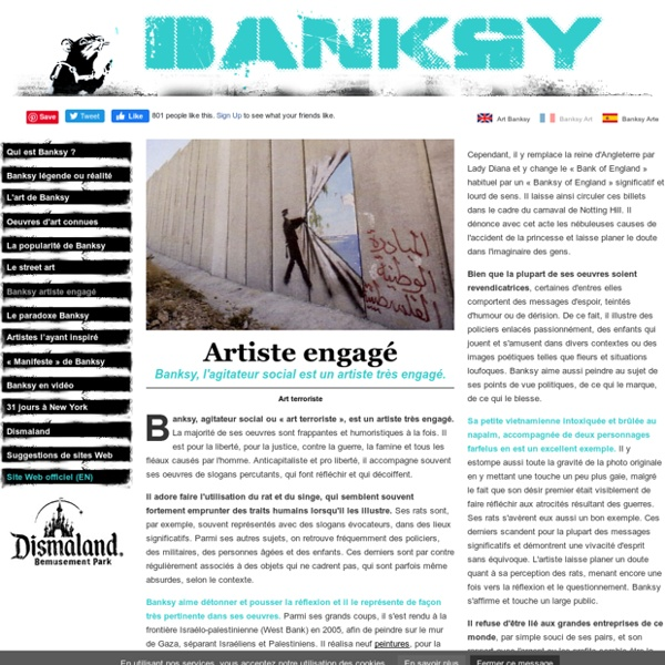 Banksy Art - Artiste engagé