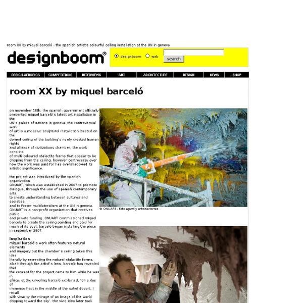 Room XX by Miquel Barceló