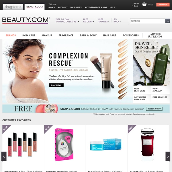 Beauty.com - bareMinerals, Origins, Urban Decay, NARS and more Beauty Products
