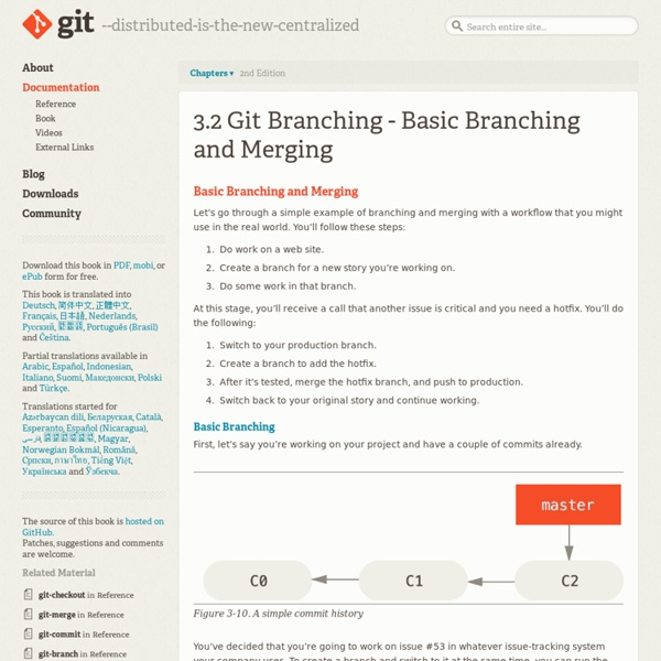Basic Branching and Merging