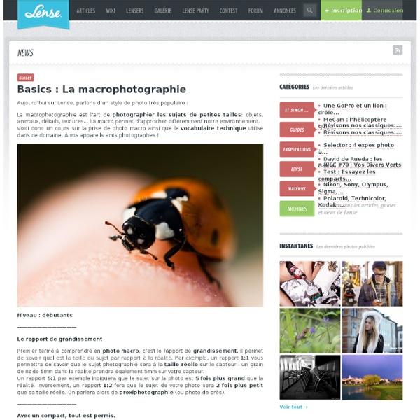 Macrophotographie