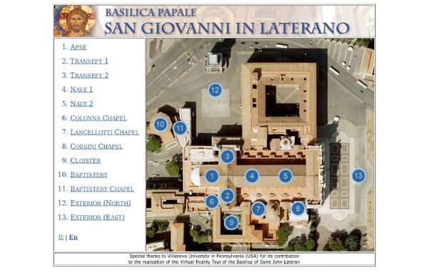 Basilique Saint Jean de Latran - VirtuVisites
