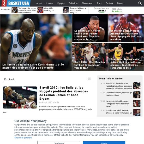Basket USA - Les infos de la NBA au quotidien