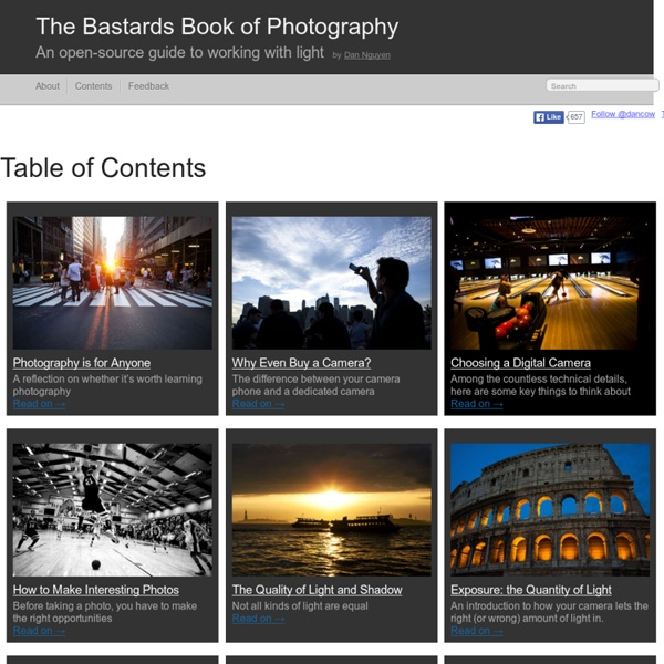 The Bastards Book of Photography by Dan Nguyen