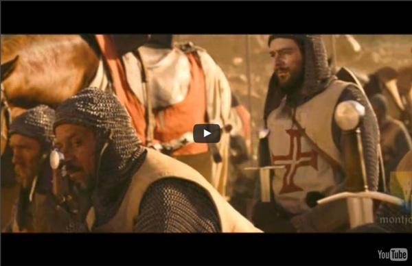 Bataille de Montgisard - les templiers français contre l'islam
