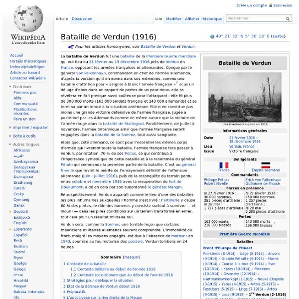 Bataille de Verdun (1916)
