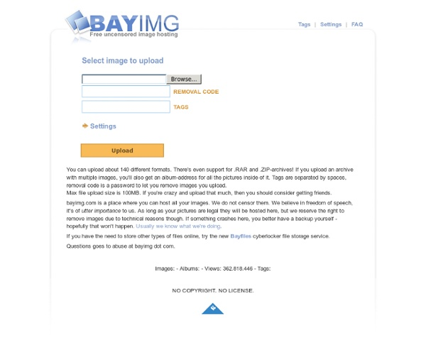Bayimg - free uncensored image hosting