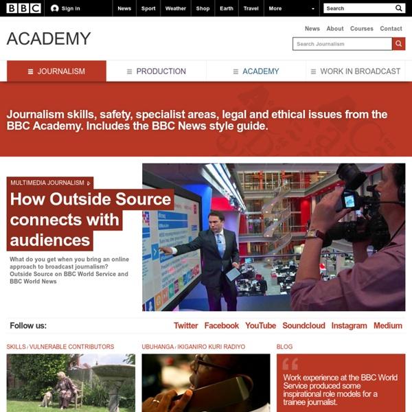 BBC Academy - Journalism