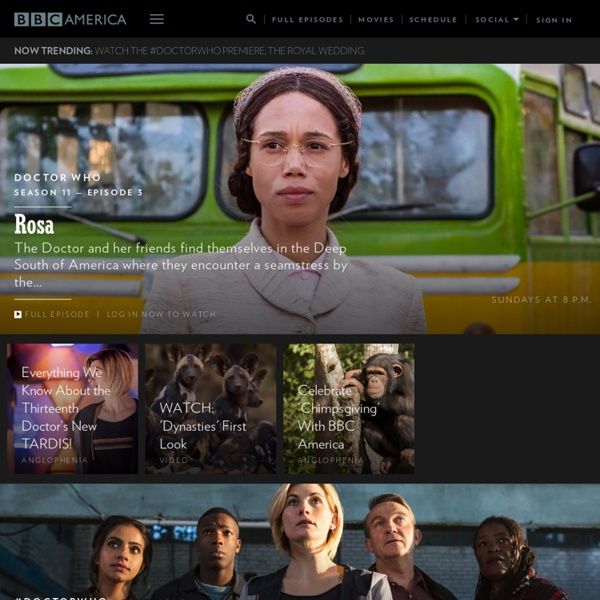 BBC America - The Biggest Names in British Television