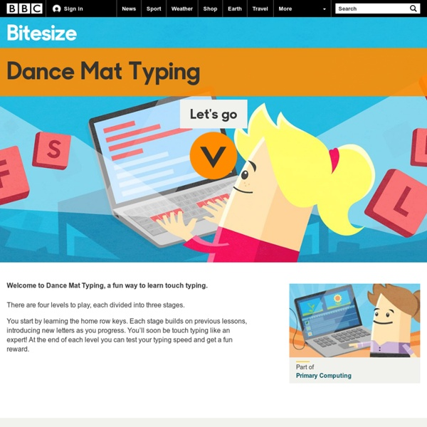 Bbc Dance Mat Typing Will Rogers