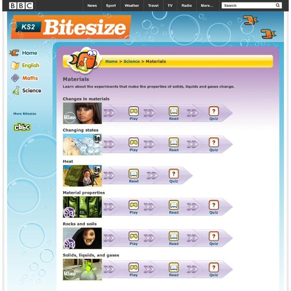 KS2 Bitesize: Science - Materials