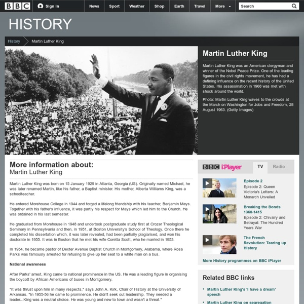 BBC History - Martin Luther King