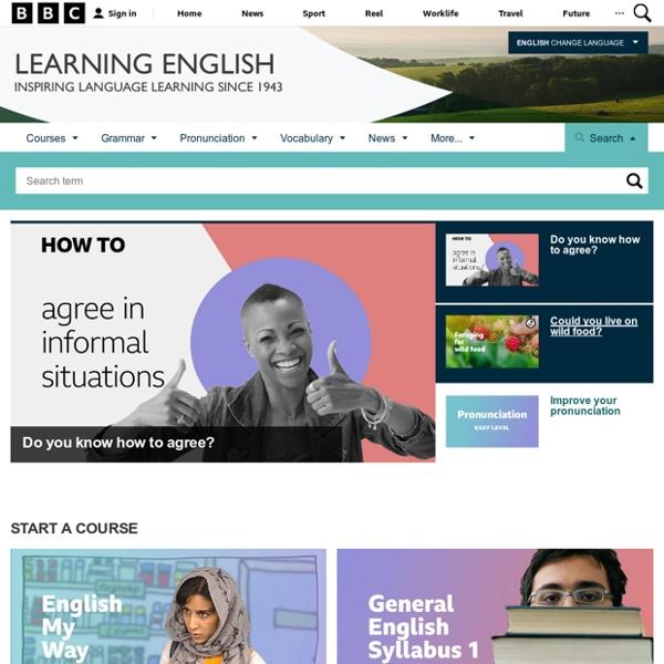 BBC Learning English - BBC Learning English home page