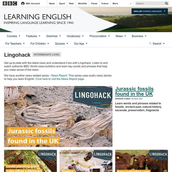 BBC Learning English - Lingohack