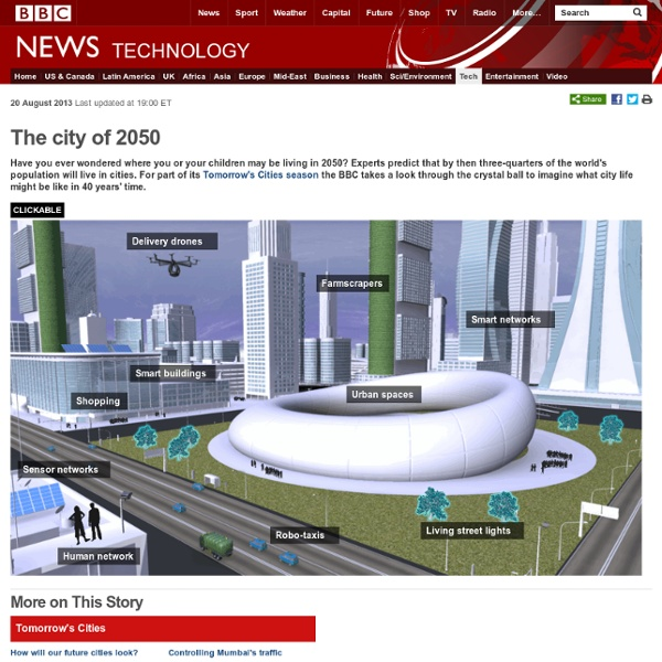 The city of 2050