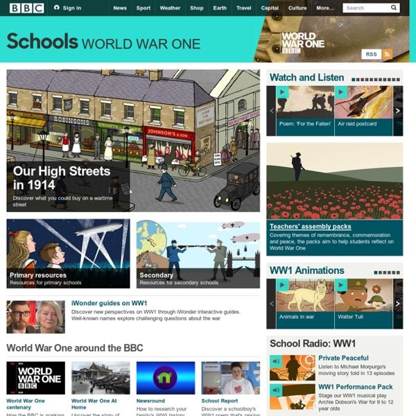 BBC Schools - World War One