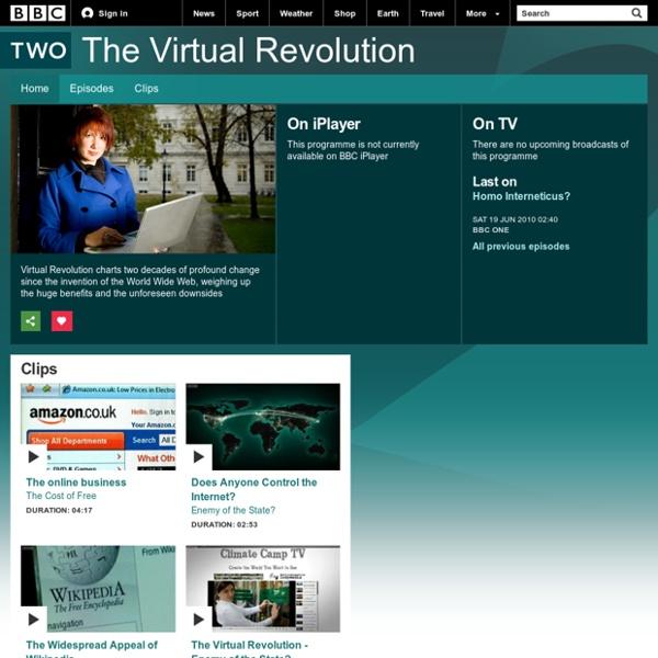 BBC Two - The Virtual Revolution