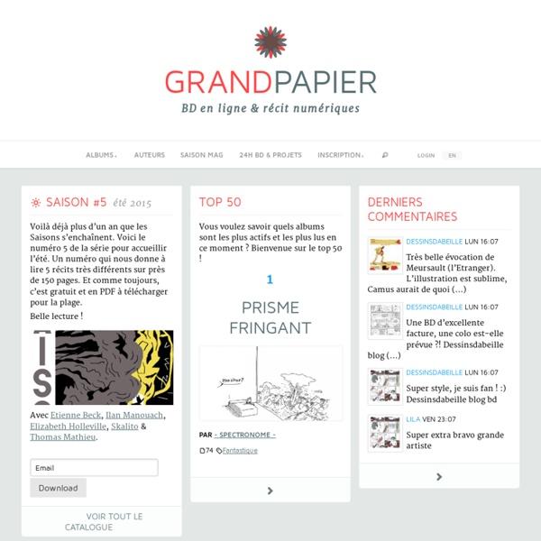 Bd en ligne - GRANDPAPIER