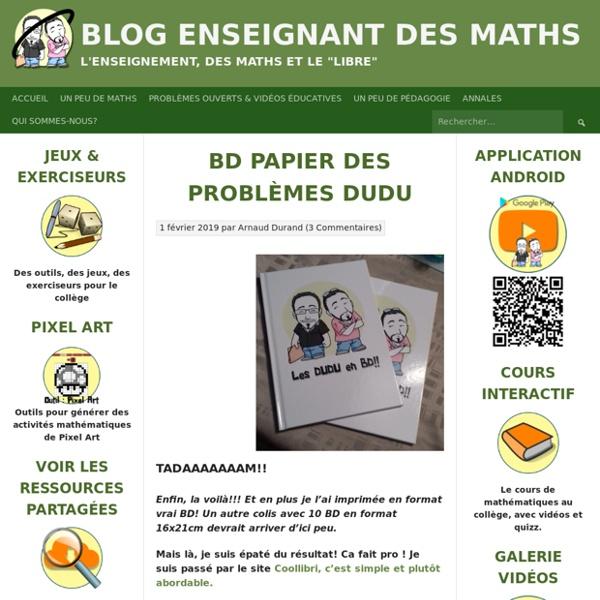 BD papier des problèmes DUDU
