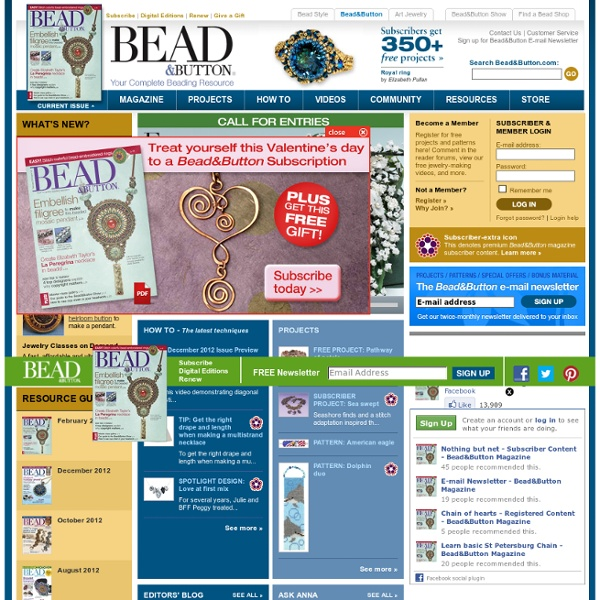 Bead&Button Magazine