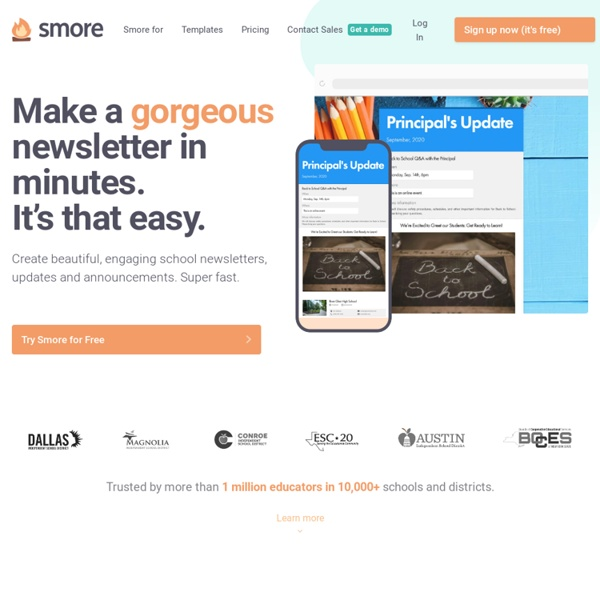 Smore - Design beautiful online flyers and publish instantly