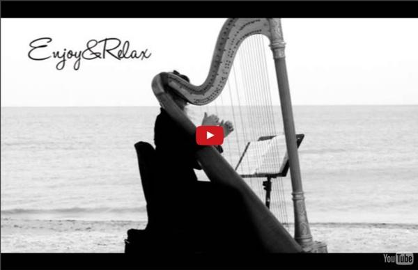 Beautiful Healing Relaxing Spa Music Long Time Harp 09