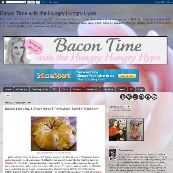 Beautiful Bacon, Egg, & Cheese Wreath & The Inspiration Behind It All Steelmom