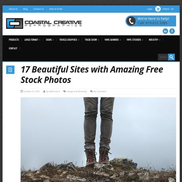 17 Beautiful Sites with Amazing Free Stock Photos