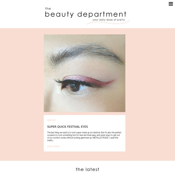 Thebeautydepartment.com from thebeautydepartment.com