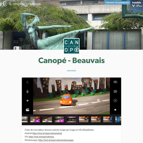 Canopé - Beauvais — Créer de merveilleux dessins animés image par...