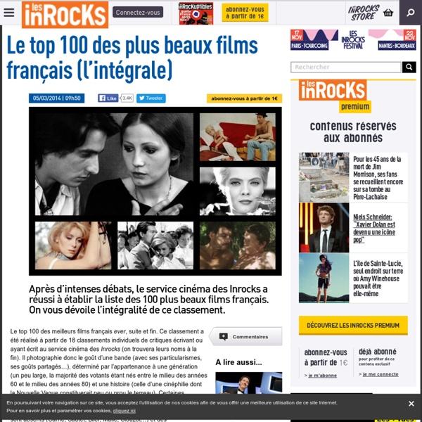 Le top 100 des plus beaux films français (1/4)