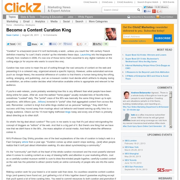 Become a Content Curation King