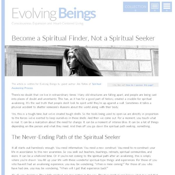Difference between a Spiritual Finder & a Spiritual Seeker