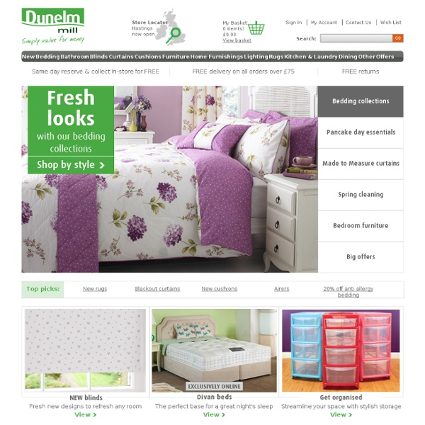 Bedding, Curtains, Blinds, Furniture & more | Pearltrees