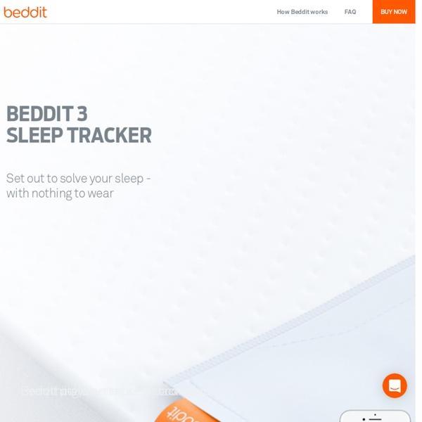 Beddit Sleep Tracker: World's first ambient sleep monitor