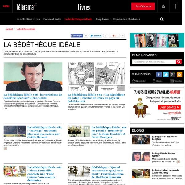 Télérama - La bédéthèque idéale