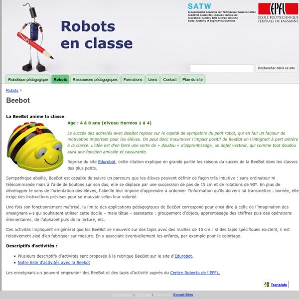Beebot - Robots en classe