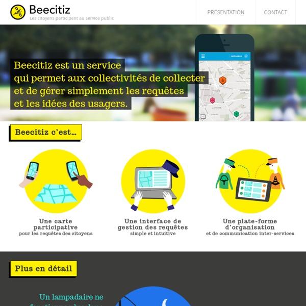 Beecitiz, les citoyens participent au service public