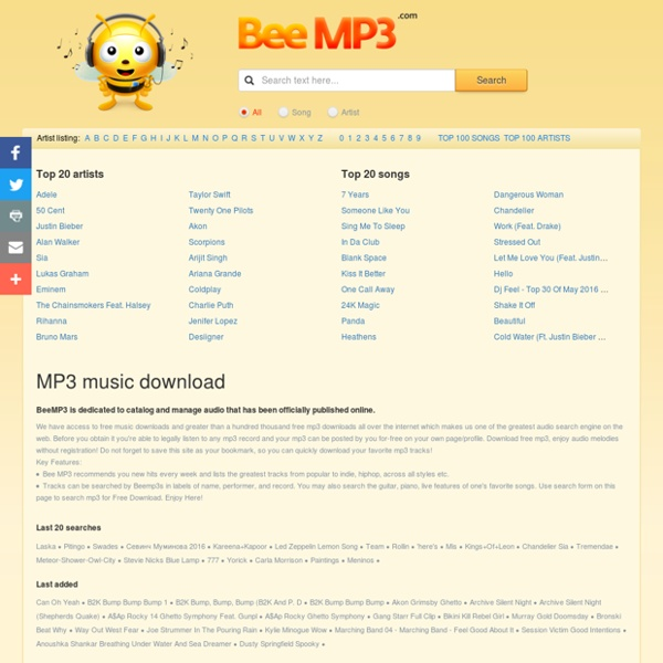 Beemp3.com - MP3 Search & Free MP3 Downloads